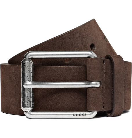 Gucci Suede Belt
