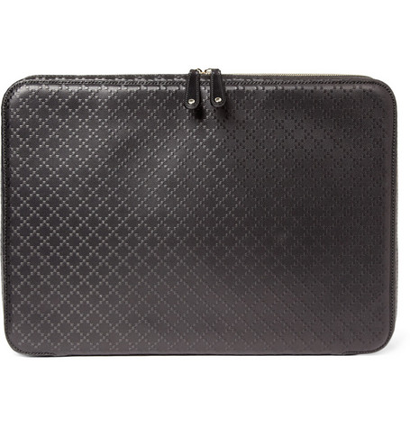 Gucci Diamond Patterned Laptop Case