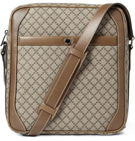 Gucci Diamond Patterned Shoulder Bag