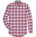 Polo Ralph Lauren Custom Fit Plaid Oxford Shirt