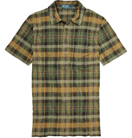 Polo Ralph Lauren Plaid Polo Shirt