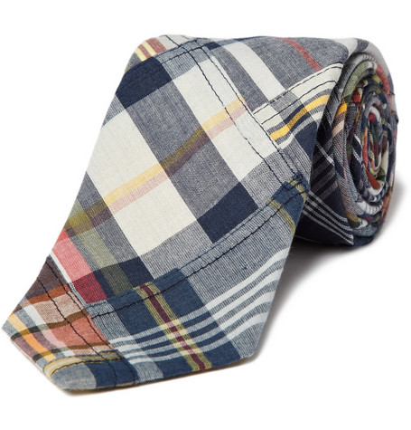 Polo Ralph Lauren Patchwork Madras Tie