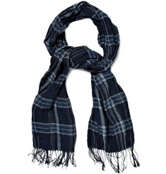 Polo Ralph Lauren Plaid Linen Scarf
