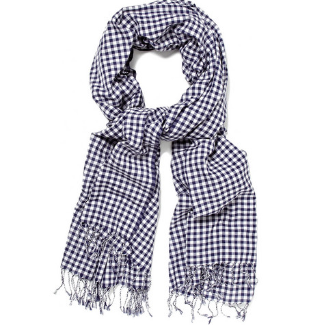 Polo Ralph Lauren Check Summer Scarf