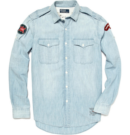 Polo Ralph Lauren Military Chambray Shirt