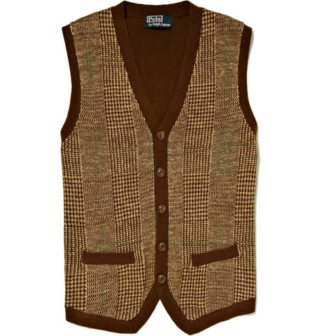Polo Ralph Lauren Knitted Cotton Blend Waistcoat