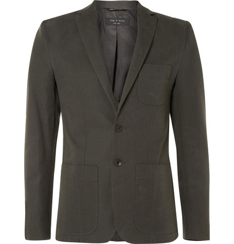 Rag & bone Dagger Cotton Blazer