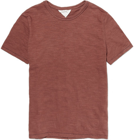 Rag & bone Crew Neck Cotton T-shirt
