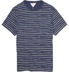 Rag & bone Stripe Pocket Cotton T-Shirt