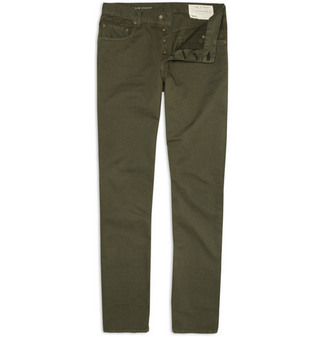 Rag & bone RB15X Straight Fit Chinos