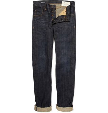 Rag & bone RB15X Straight-Leg Denim Jeans