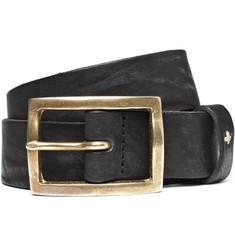 Rag & bone Worn-Effect Leather Belt
