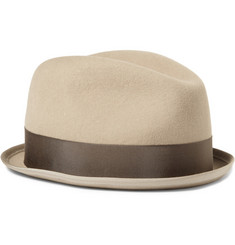 Rag & bone Fedora with Grosgrain Ribbon