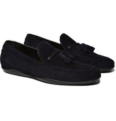 Harrys of London Suede Moccasin Loafers