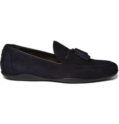 Harrys of London Dylan Suede Moccasin Loafers
