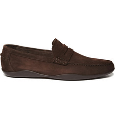 Harrys of London Basel Kudu Suede Driving Shoes