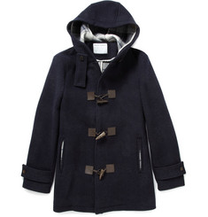 Black Fleece Wool Duffel Coat