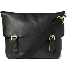 Mulberry Barnaby Leather Messenger Bag