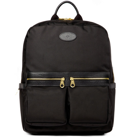 Mulberry Henry Leather-Trimmed Backpack