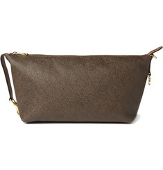 Mulberry Leather Wash Bag