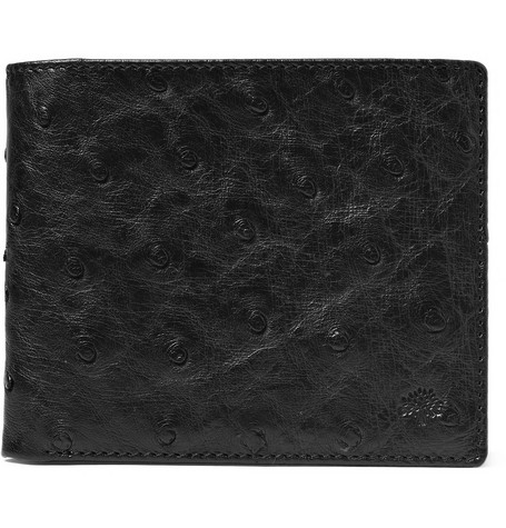 Mulberry Ostrich Leather Wallet