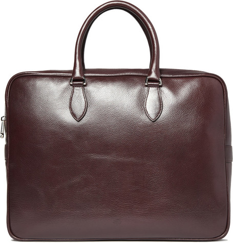 Mulberry Tony Classic Leather Briefcase