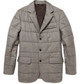 Brioni - Quilted Herringbone Jacket