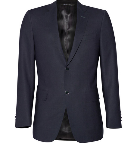 Canali Water Resistant Travel Blazer
