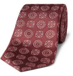 Canali Rose Crest Tie