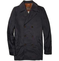 Canali Nylon Pea Coat