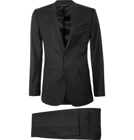 Dolce & Gabbana Martini Wool and Silk-Blend Suit