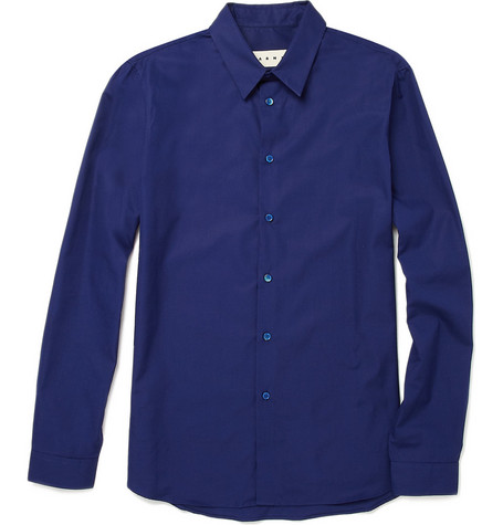 Marni Cotton Poplin Shirt