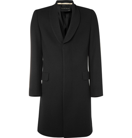 MR. by Roland Mouret Shawl Collar Wool Coat