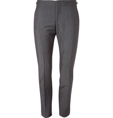 Alexander McQueen Slim-Fit Wool and Mohair-Blend Suit Trousers