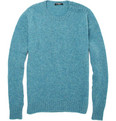 Balmain Split Shoulder Wool Sweater