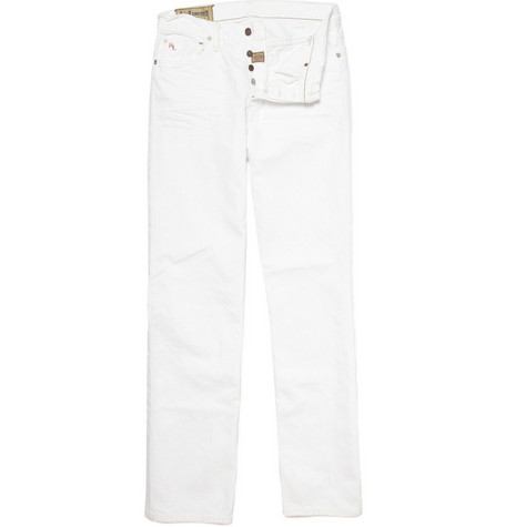 Polo Ralph Lauren Straight Leg White Jeans