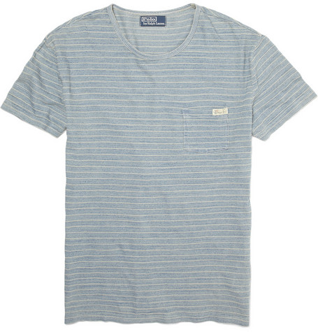 Polo Ralph Lauren Striped Cotton Jersey T-shirt
