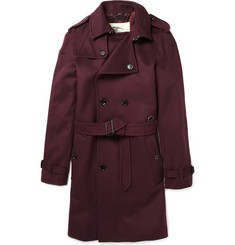 Burberry London<br /> Classic Wool-Blend Trench Coat
