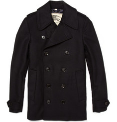 Burberry London Gibson Wool Blend Pea Coat