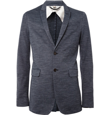Burberry London Mansford Peak Lapel Blazer