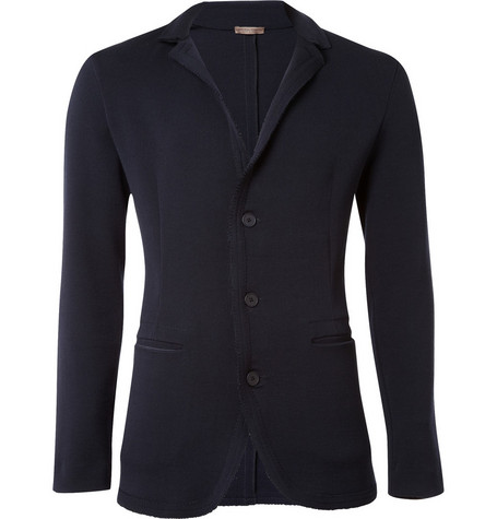 Bottega Veneta Stretch Wool-Blend Jersey Blazer