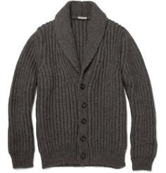 Bottega Veneta Heavy Knit Wool-Blend Cardigan
