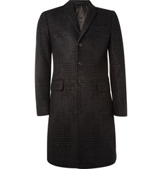 Givenchy Printed Prince of Wales Check Coat