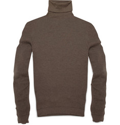 Gucci Slim Fit Ribbed Cashmere Sweater