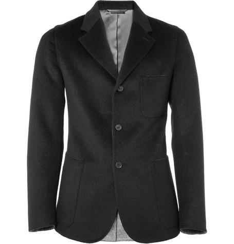 Jil Sander Unstructured Brushed Flannel Jacket