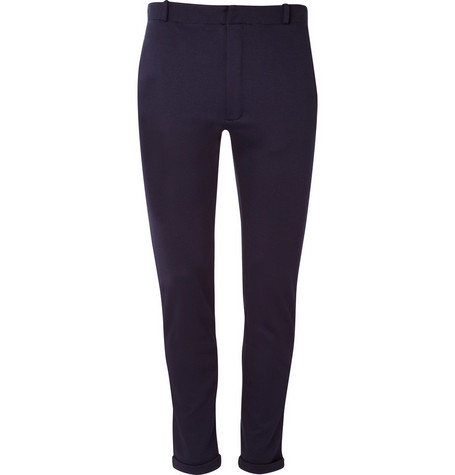 Jil Sander Stretch Jersey Suit Trousers