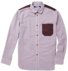 Junya Watanabe Corduroy Panelled Shirt