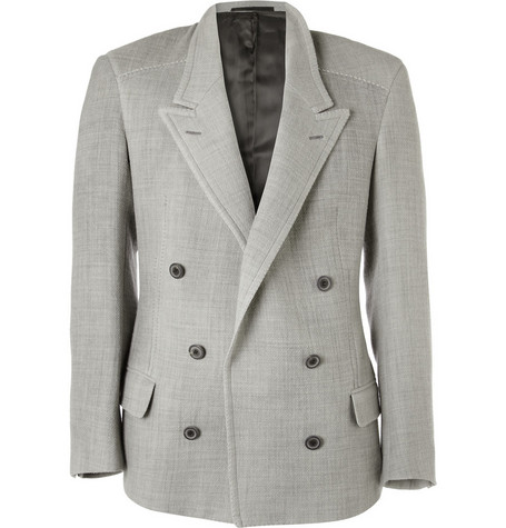 Lanvin Magnet-Closed Double-Breasted Jacket