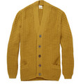Paul Smith Waffle Knit Merino Wool Cardigan
