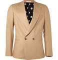 Paul Smith Double-Breasted Camel Hair Jacket